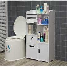 马桶边jo卫生间置物nm所收纳储物浴室落地夹缝角落防水侧窄柜