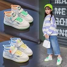 英国sy&hm儿童运动鞋20jo150春秋er真皮女童鞋子时尚板鞋潮