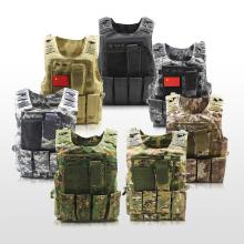 战狼2同式 特种兵战术背心多jo11能迷彩ercs装备防刺防弹衣