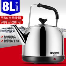 波尼思joH-G80en壶自动断电不锈钢电烧水壶家用大容量电热水壶