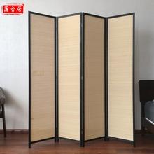 [jqdldz]屏风实木仿古客厅卧室简易折叠屏风