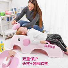 大童女js宝宝洗澡洗dq1-10岁躺椅大号架(小)女孩理发店可坐躺(小)