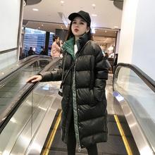 棉袄女2020新式时尚冬季棉ju11中长式ue松羽绒加厚爆式外套
