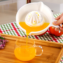日本进juSanadia果榨汁器 橙子榨汁机 手动挤汁器