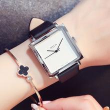 正品韩国聚利时ju4表学生皮ia潮流时装防水英伦时尚女士手表