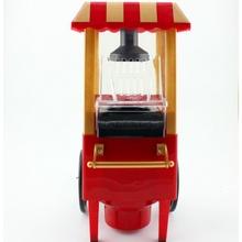 (小)家电ju拉苞米(小)型ia谷机玩具全自动压路机球形马车