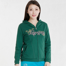 La juagayoai雅春秋女装大码修身卫衣休闲外套运动衫DFW7915A