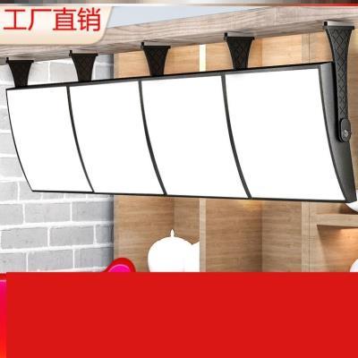 奶茶灯juLED磁吸qu目表显示屏悬挂超薄电视灯箱广告牌定做