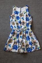 雪纺连体裙裤夏季女款椰树