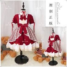 原创正款洛丽塔jv童连衣裙童ry(小)学生女童萝莉公主lolita洋装