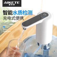 桶装水jw水器压水出hb用电动自动(小)型大桶矿泉饮水机纯净水桶