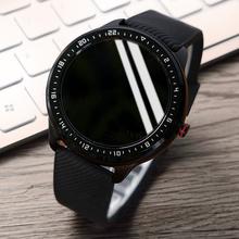 SIOjxI手表男运ua电子手表(小)米华为通用多功能防水机械黑科技