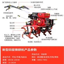 旋耕机jy土机犁沟耕lb开荒(小)型新品多功能柴油碎草农。