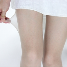10Djy明丝袜女隐ht袜超薄式长袜连体自然肤色脚尖黑色肉色
