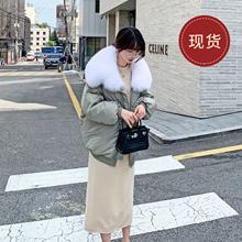 法儿家jy韩国定制2ht年新式冬季女装棉袄设计感面包棉衣羽绒棉服