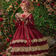 贝蒂(小)姐lolitaop长袖jz11创裙正gj宫廷风高腰洛丽塔公主裙