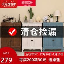 斗柜实k0卧室特价五0w厅柜子简约现代抽屉式整装收纳柜