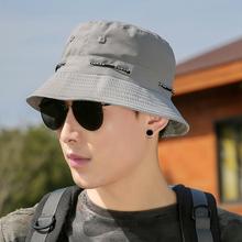 帽子男k3天遮阳帽防x2女士青年太阳帽休闲男士钓鱼渔夫帽登山