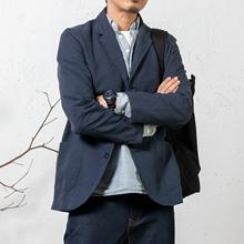 arba 西装男秋薄款单