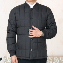 中老年ka棉衣男内胆xu套加肥加大棉袄爷爷装60-70岁父亲棉服