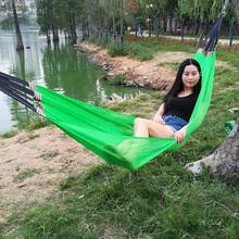 吊床户ka宿舍大学生an床吊睡网冰丝网床吊网懒的摇床空中吊椅