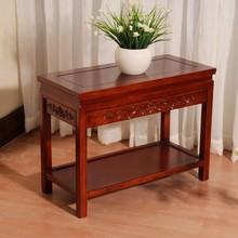 中式实ka边几角几沙er客厅(小)茶几简约电话桌盆景桌鱼缸架古典