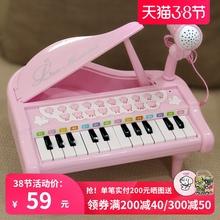 宝丽/keaoli in具宝宝音乐早教电子琴带麦克风女孩礼物