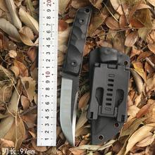 户外刀具防身军kf4刀高硬度zq生存退役刀求生刀锋利随身军刀