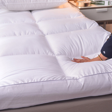 超软五星级酒kf10cm加zq子垫被软垫1.8m家用保暖冬天垫褥