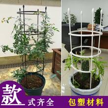 花架爬kh架铁线莲月an植物支架牵引架子户外庭院室内柱形杆