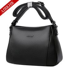 新式女kh手袋真皮单dm挂包简约软皮包包中年女士斜挎包多隔层