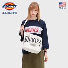 Dickhies新式ie0女包ins时尚单肩包包女帆布斜跨包手提托特包B016