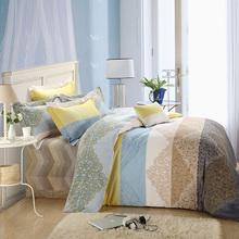 老裁缝ki纺全棉磨毛hw加厚纯棉2.0m被套床单婚庆床上用品冬季