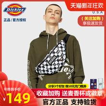 Dickies帝ki5潮牌新式hw学生格子斜挎胸包腰包单肩包B056