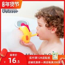 宝宝双ki式泡泡制造ra狐狸泡泡玩具 宝宝洗澡沐浴伴侣吹泡泡