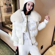短式棉服ki1(小)个子大ka2019新式宽松时尚棉袄加厚棉衣外套潮