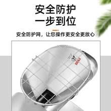 核桃花ki新式家庭全ka用(小)型智能电动商用不锈钢炸油机