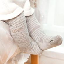 春秋薄ki棉质长筒袜ip裤袜宝宝女童袜子连体袜宝宝打底裤韩款