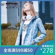 NORkiHLANDed软壳衣女式秋冬户外防风外套硬壳GF072Y04