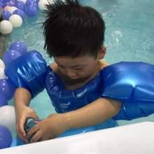 宝宝手ki浮圈背心腋dl宝浮力游泳装备加手臂圈组合