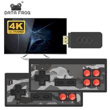 高清游ki机 4K电sb 童年怀旧 双的无线手柄 内置经典FC可下载