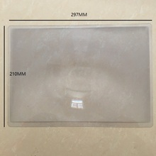 满20kk包邮 大面zx老的阅读超薄便携pvc平面放大镜 297x210mm