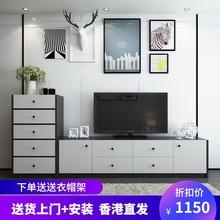 现代简kn客厅五斗柜cs奢电视机柜大容量储物收纳柜