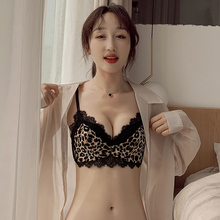内衣女kn钢圈(小)胸聚fp整型平胸专用文胸蕾丝性感套装