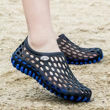 洞洞鞋kn凉鞋潮流休nj鞋情侣防滑软底凉拖涉水鞋沙滩鞋男夏季