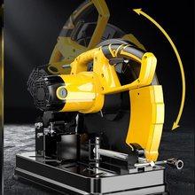 。台式ko功率355ch割机钢材家用(小)多功能台式木材无齿锯金属