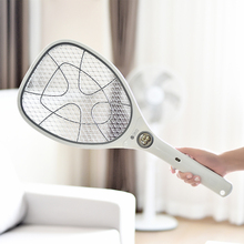 日本电ko拍可充电式mi子苍蝇蚊香电子拍正品灭蚊子器拍子蚊蝇