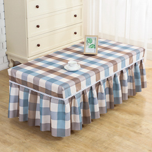 茶几罩kr全包长方形oy艺客厅餐桌垫台布防尘罩家用盖布