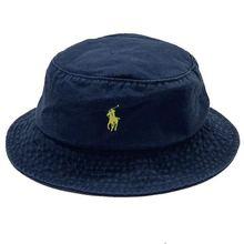 保罗(小)kr标子女遮阳cp闲盆帽POLO男折叠出游户外钓鱼帽