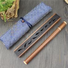 黑檀木kr香盒 实木ey用室内香座点香器创意木质品定制